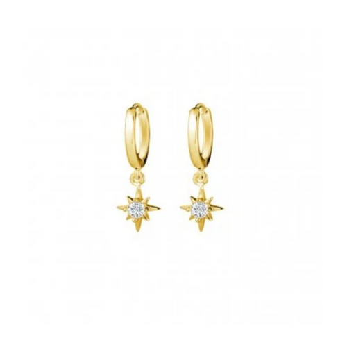 Saint Earrings in Gold