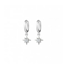 Load image into Gallery viewer, Saint Earrings in Silver
