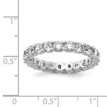 Load image into Gallery viewer, Cubic Zirconia Eternity Band