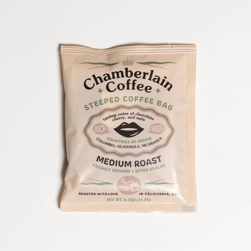 Chamberlain Steeped Coffee Bags