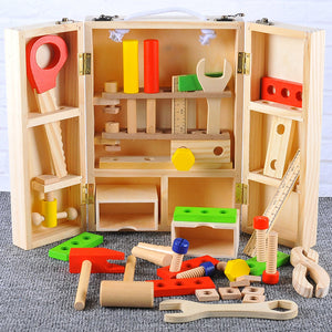 Wooden Toy Toolbox -  Best Finds Now