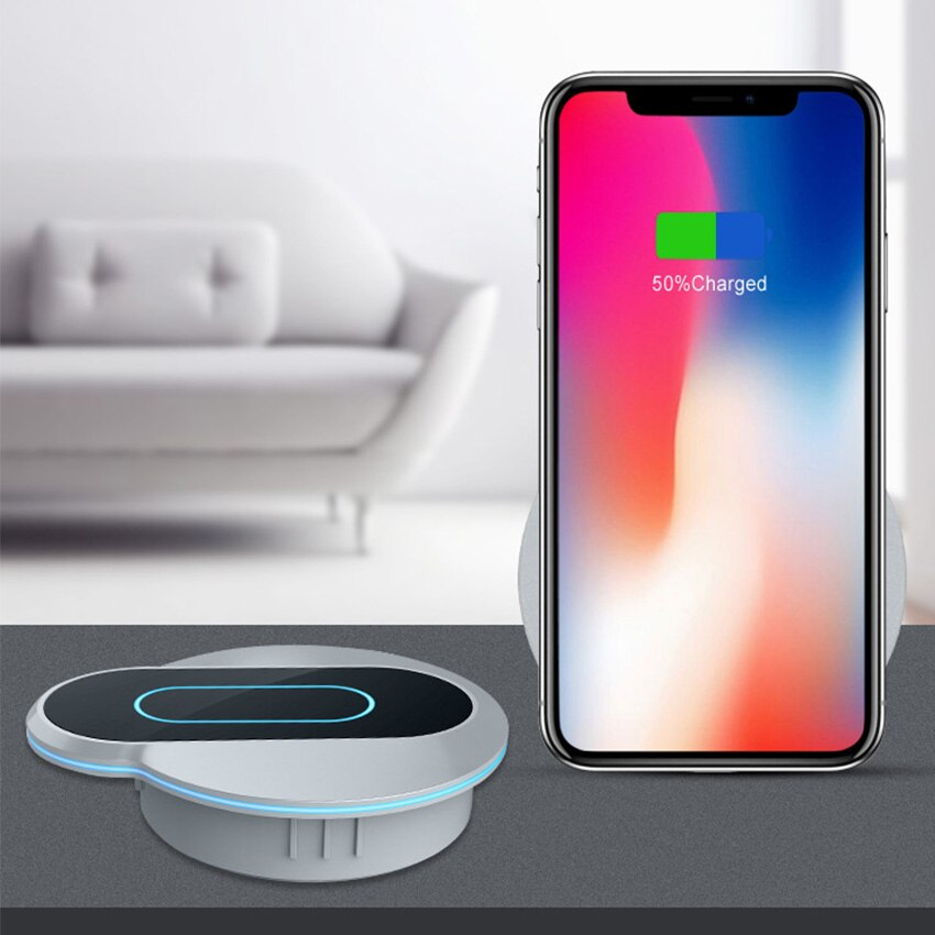 Embedded Desktop Wireless Charger -  Best Finds Now