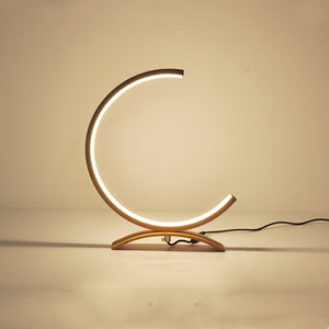 Minimalist Crescent Led Table Lamp