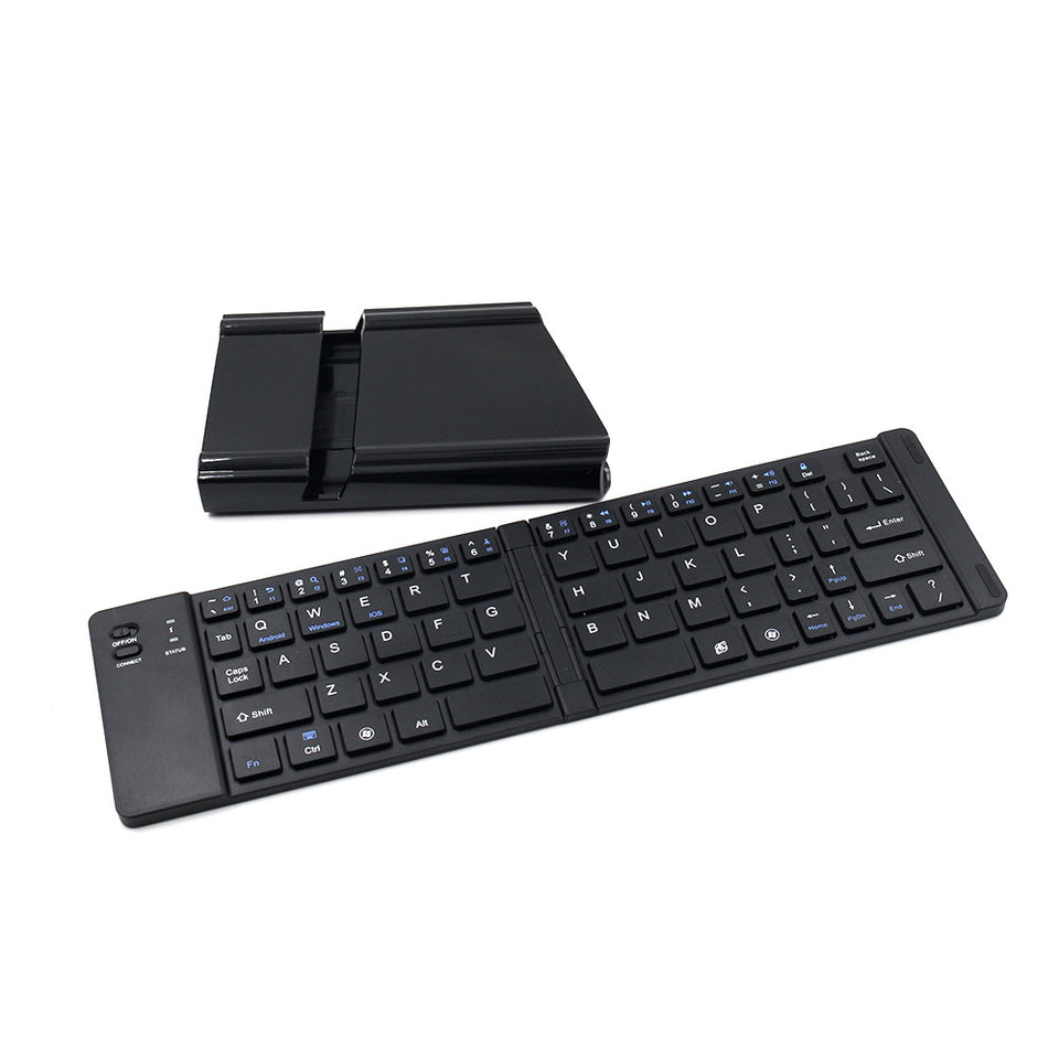 Minin Folding Metal Bluetooth Keyboard -  Best Finds Now