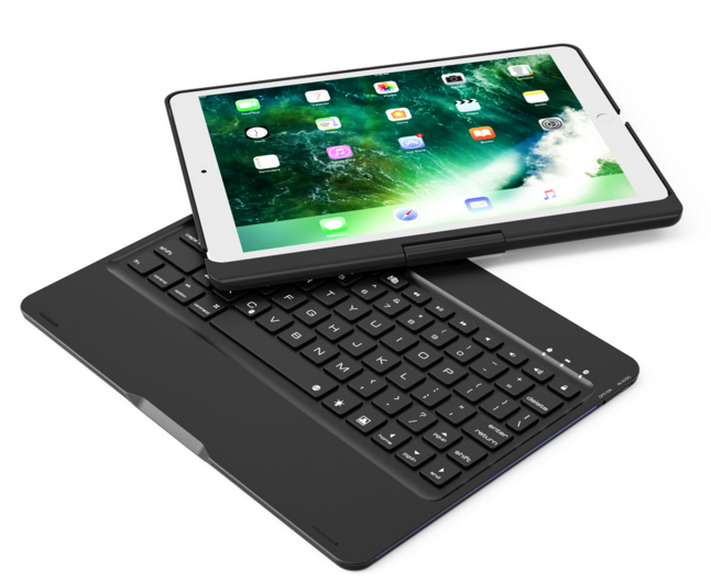 iPad Universal Rotating Bluetooth Keyboard -  Best Finds Now