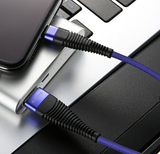 Indestructible Charging Cable (iPhone & Android) -  Best Finds Now