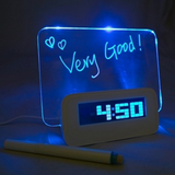 Digital Alarm Clock with Message Board -  Best Finds Now