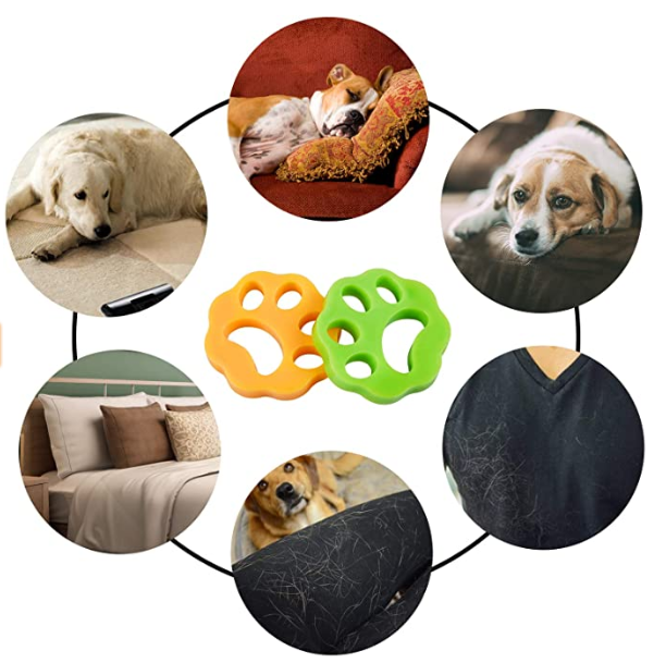 PET HAIR REMOVER SILICONE PAW PACK -  Best Finds Now