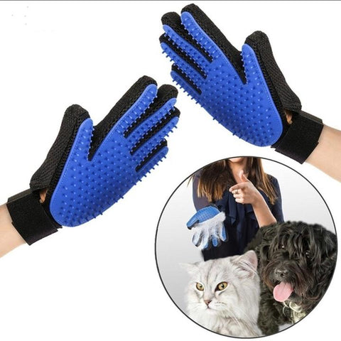 grooming glove for cat