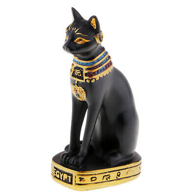 Abyssinian cat statue