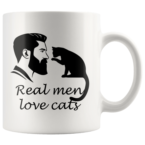Real Men Love Cats Mug
