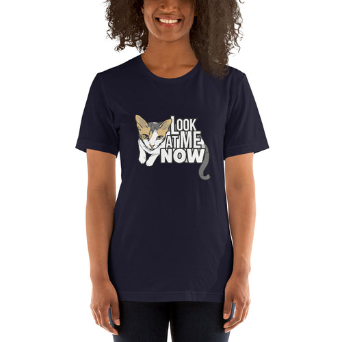 Look at Me Now Funny Cat Shirt