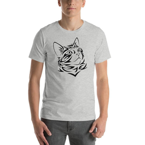Tribal Cat Face Cat Shirt-Gift for Cat Lovers-Sweetcatito