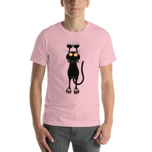 Hanging Black Cat Shirt-Gift for Cat Lovers-Sweetcatito