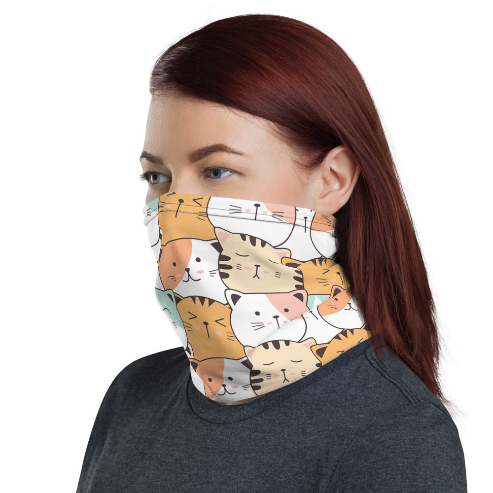 Neck Gaiter Face Mask for Cat Lovers