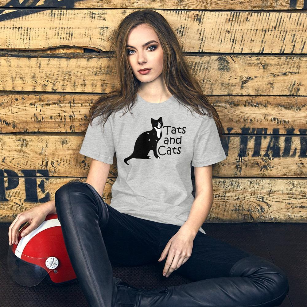 Cats and Tats Cat Shirt-Gift for Cat Lovers-Sweetcatito