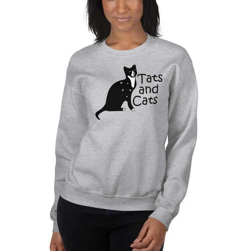 Tats and Cats Sweatshirt