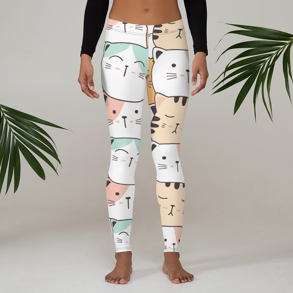 Cute Cat Women Legging