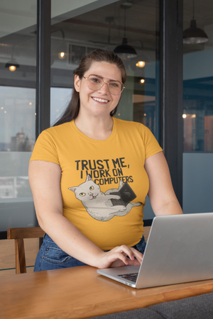 Funny Cat Shirt for Programmers