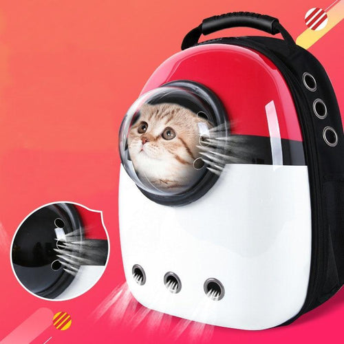 Space Capsule Cat Carrier Backpack