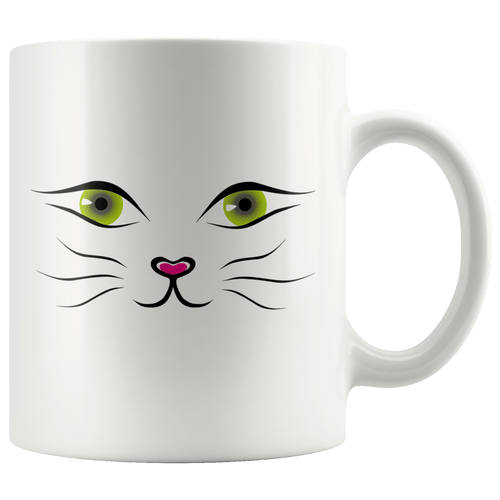 Cute Cat Face Cat Mug