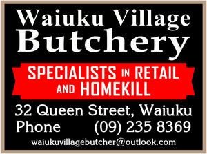 Waiuku Village Butcher