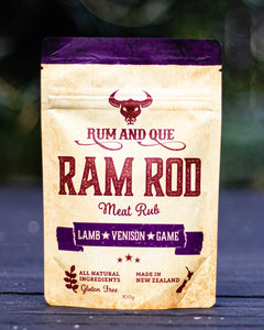 Ram Rod - Meat rub from Rum n Que