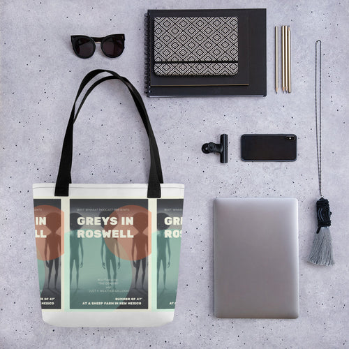 Greys In Roswell Tote