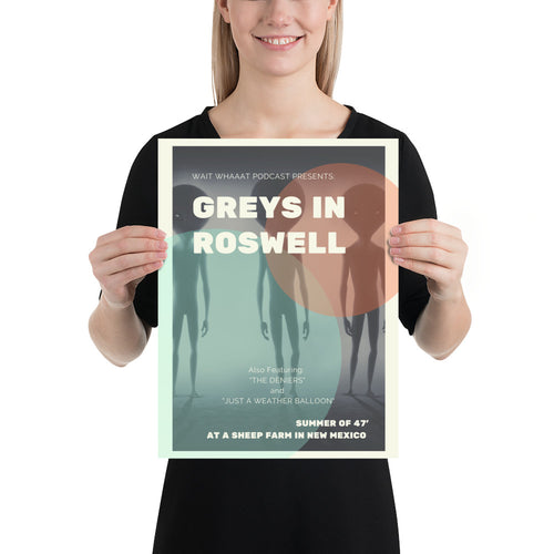 Greys In Roswell Concert Poster