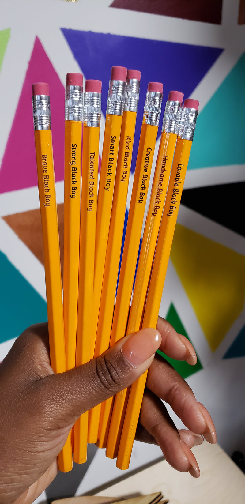 Personalized Pencils- (12 count)