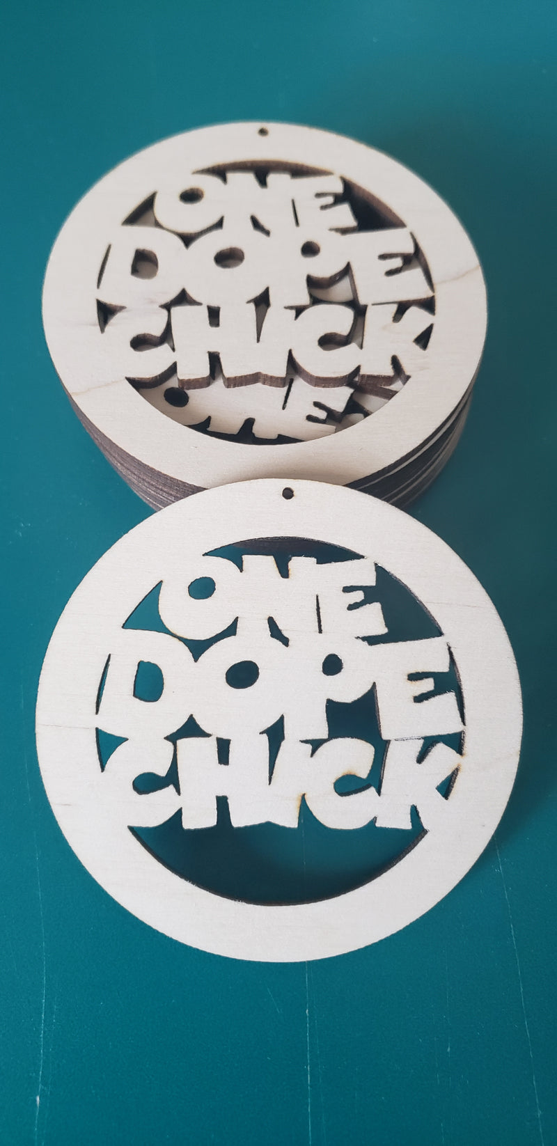 One Dope Chick- Cut Out Shapes (R2S)