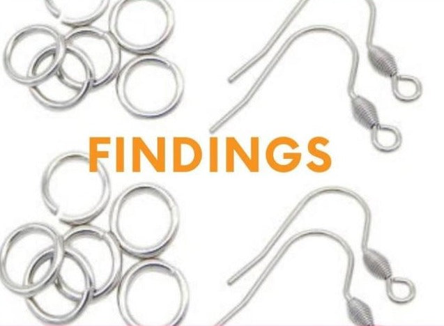 Earring Findings Bundle: Earrings Hooks| Jump Rings| Stoppers| Fish Hooks| Earring Finding Kit