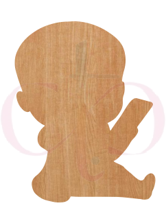Boy Boss Baby Wood Cut Outs (Several Options)