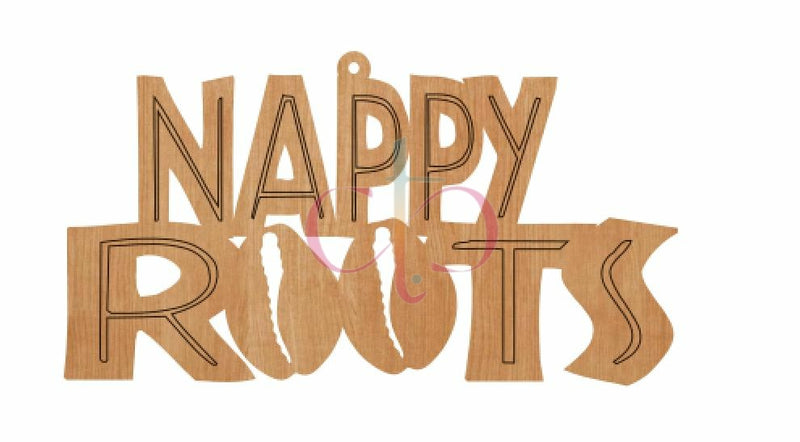 Nappy Roots- Unfinished Wood Earrings