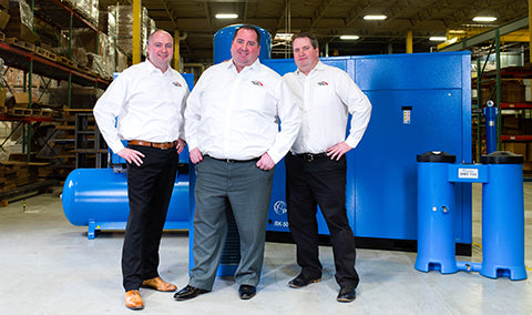 The Taylor Brothers - Kevin, Derrick, and Brad - Owners of Fluid-Aire Dynamics