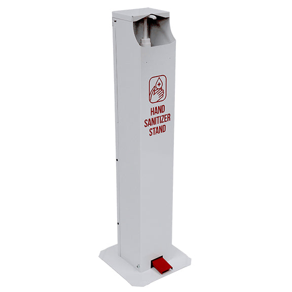 One-Gallon Pedal Activated Hand Sanitizer Stand