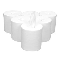 Handy Wipe Bucket Refill Rolls - Pre-moistened with Chlorine Solution (6 per carton)