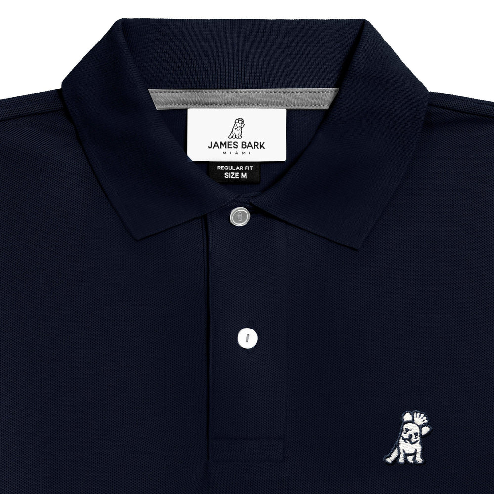 Men's Classic Navy Regular Fit Polo Shirt