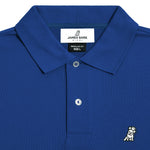 Men's Classic Blue Regular Fit Polo Shirt