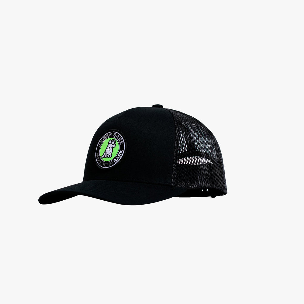 Retro Trucker Cap with Round Patch