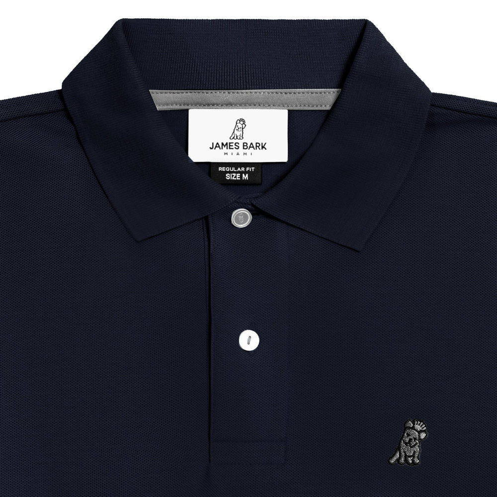 Men's Navy Regular Fit Polo Shirt