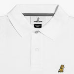 Men's Gold Edition Regular Fit Polo Shirt in White