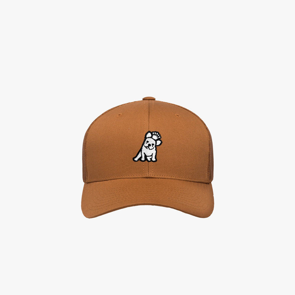 Retro Trucker Cap in Caramel