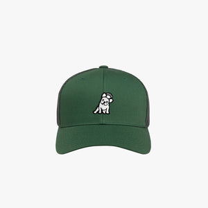 Retro Trucker Cap in Evergreen