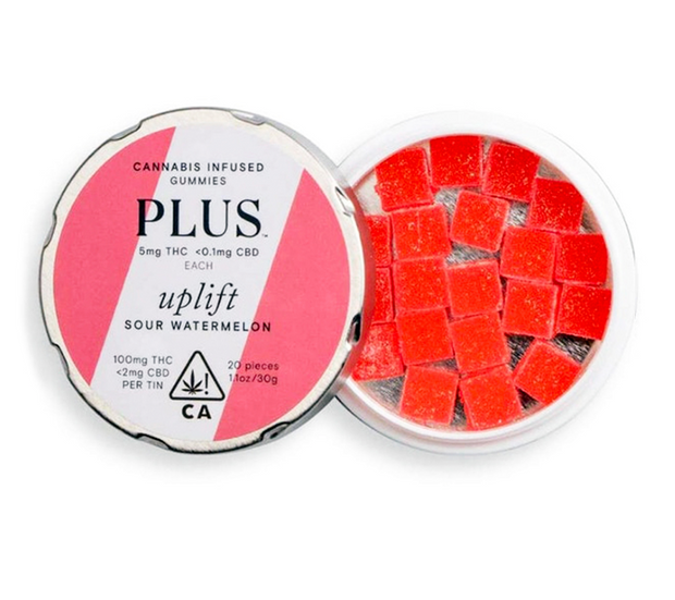 PLUS | Uplift Sour Watermelon Gummies