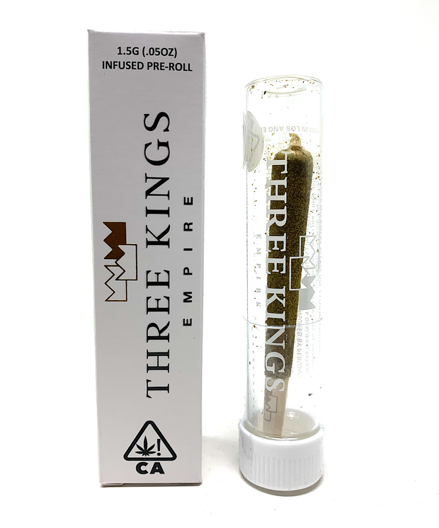 Three Kings | Watermelon Kiwi | Infused Pre-Roll (1g)