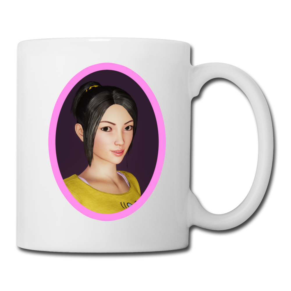 Amy Coffee/Tea Mug - white