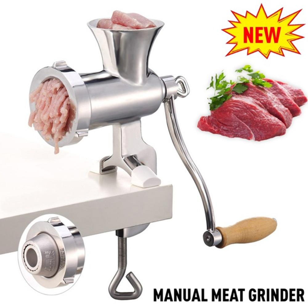 Kitchen Multifunction Handheld Hand Crank Meat Mincer