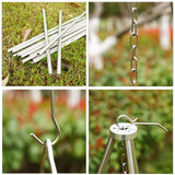 Mini Stainless Steel Outdoor Cooking Tripod