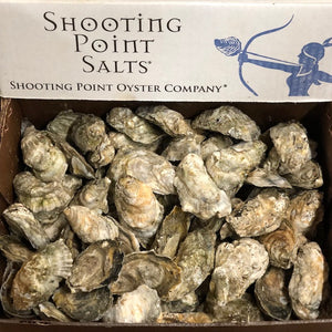 Shooting Point Oysters | 100 ct. Box